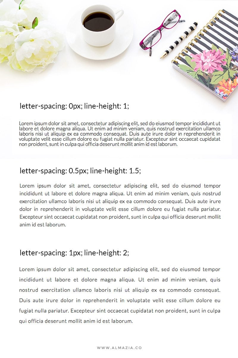 letter-spacing-line-height