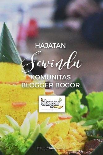 Hajatan Sewindu Komunitas Blogger Bogor & Isu Co-Working Space