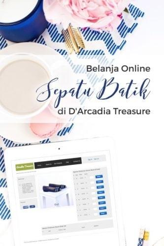 Belanja Sepatu Batik Online di D'Arcadia Treasure