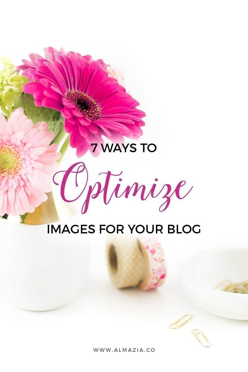 7 ways to optimize images for your blog and website