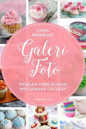 Membuat galeri foto di WordPress dengan free plugin WP Canvas Gallery