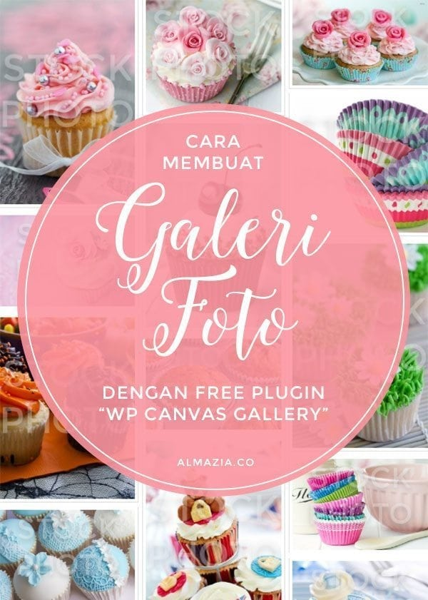 Membuat galeri foto di wordpress dengan free plugin WP Canvas Gallery