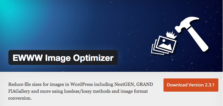 Wordpress plugin EWWW Image Optimizer