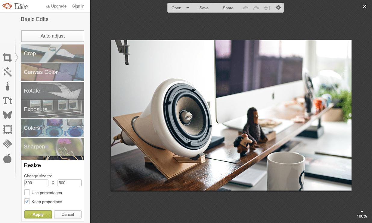 Me-resize Gambar dan Foto dengan PicMonkey