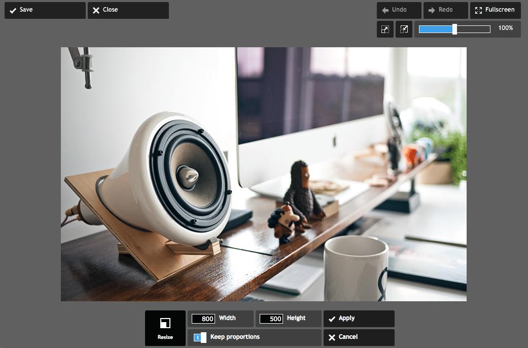 Me-resize Gambar dan Foto dengan Pixlr