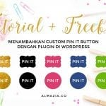 Menambahkan Custom Pin It Button di WordPress