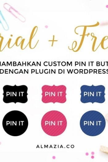 Menambahkan Custom Pin It Button di WordPress