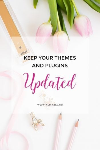 Update themes dan plugin pada WordPress