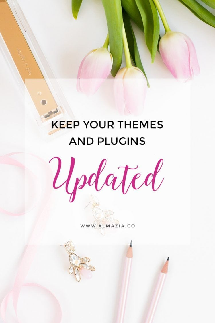 Keep your wordpress themes and plugins updated