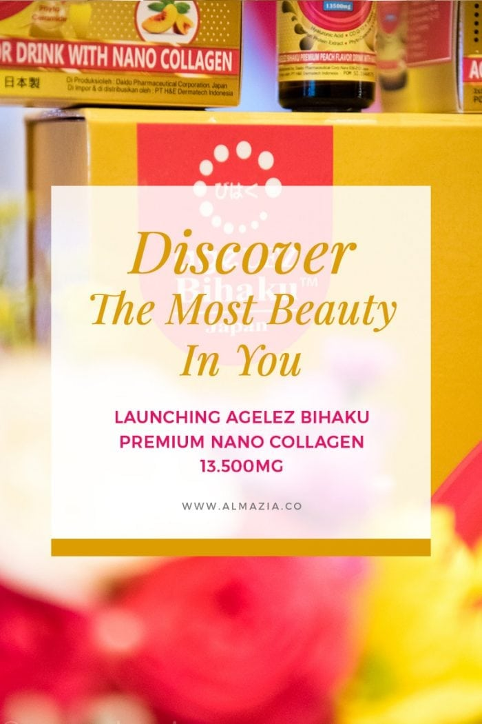 Discover The Most Beauty in You – Launching Agelez Bihaku Premium Nano Collagen 13.500mg – Ritz Carlton Jakarta