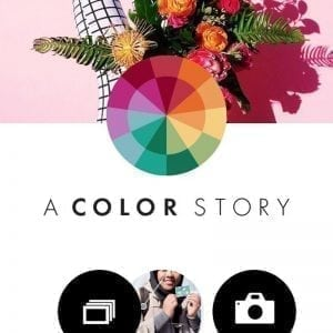 Aplikasi photo editing iPhone A Color Story
