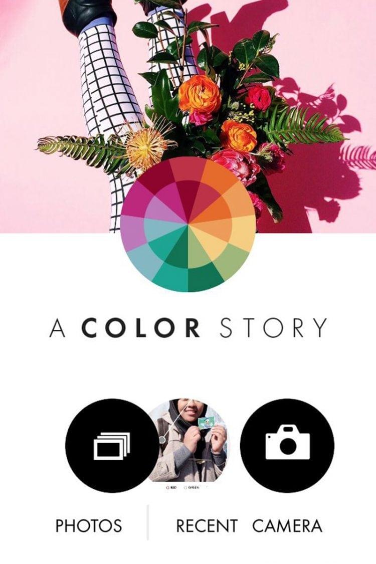Aplikasi photo editing iPhone A Color Story