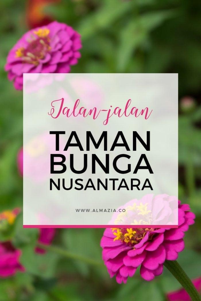 Jalan-jalan ke Taman Bunga Nusantara Cipanas