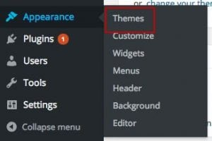 00 dashboard wordpress appearance themes
