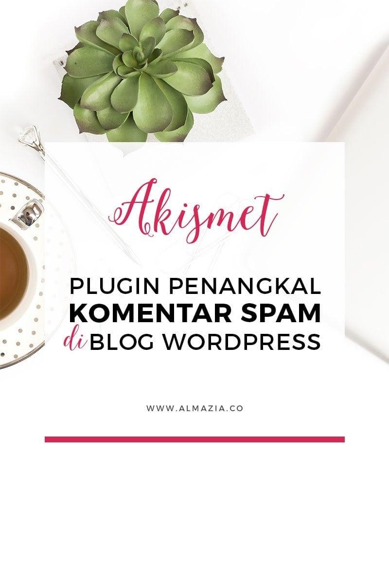 Cara Menangkal Spam di Blog WordPress dengan Plugin Akismet