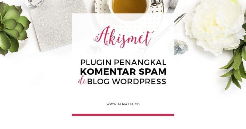 Cara ampuh menangkal komentar spam di blog wordpress dengan akismet