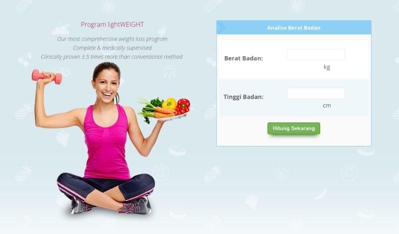 analisa berat badan