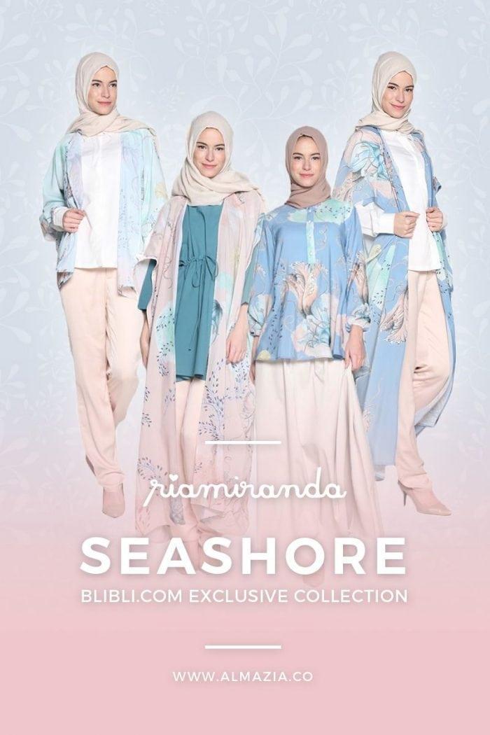 Seashore Collection – Yang Terbaru Dari Koleksi Baju Muslim Terlengkap Desainer Ria Miranda