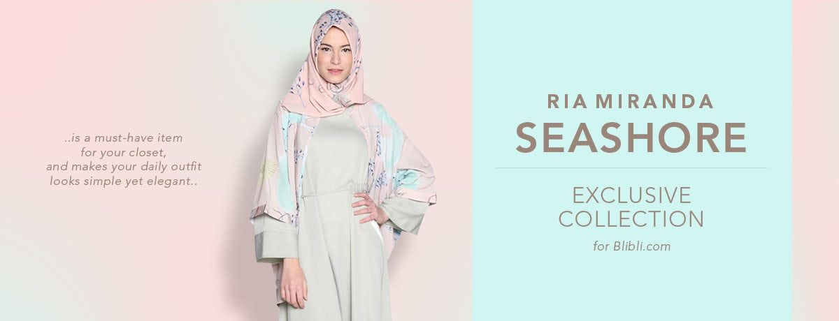 riamiranda seashore exclusive collection blibli