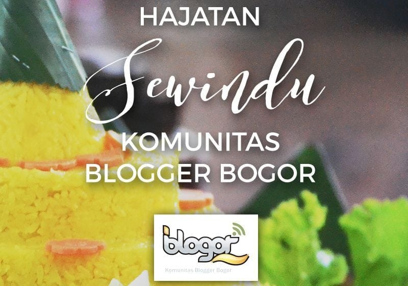 Hajatan Sewindu Komunitas Blogger Bogor & Isu Co-Working Space