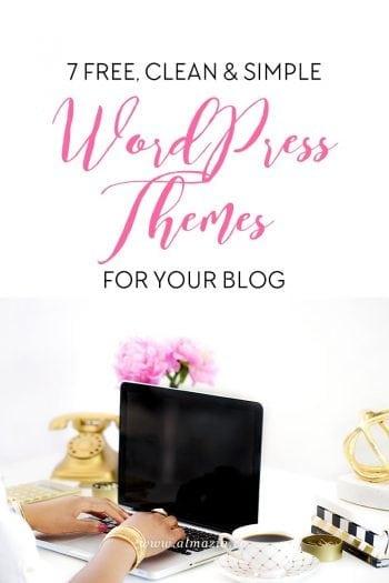 WordPress Themes Gratis Clean & Simple Untuk Blog