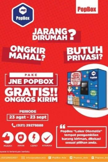 JNE PopBox – Cara Baru Terima Kiriman Paket