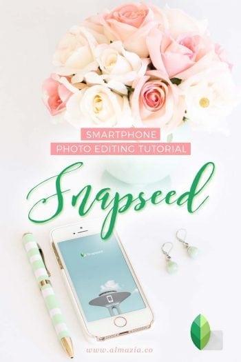 Tutorial Snapseed untuk edit foto di smartphone