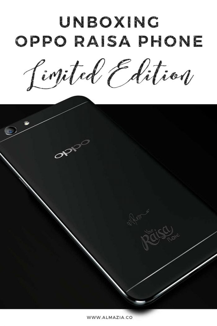 Wajah Baru OPPO F1s Raisa Phone Limited Edition + Unboxing