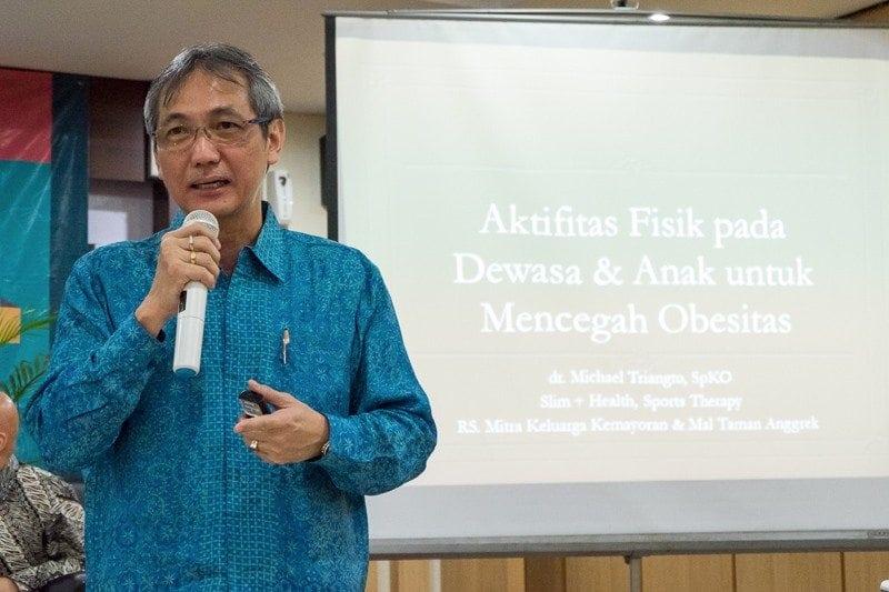 dr. Michael Triangto, SpKo