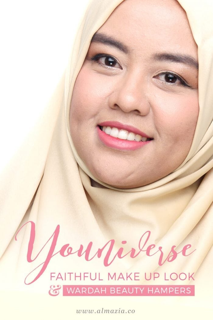 Wardah Beauty Hampers & Re-Create YOUniverse Faithful Make Up Look
