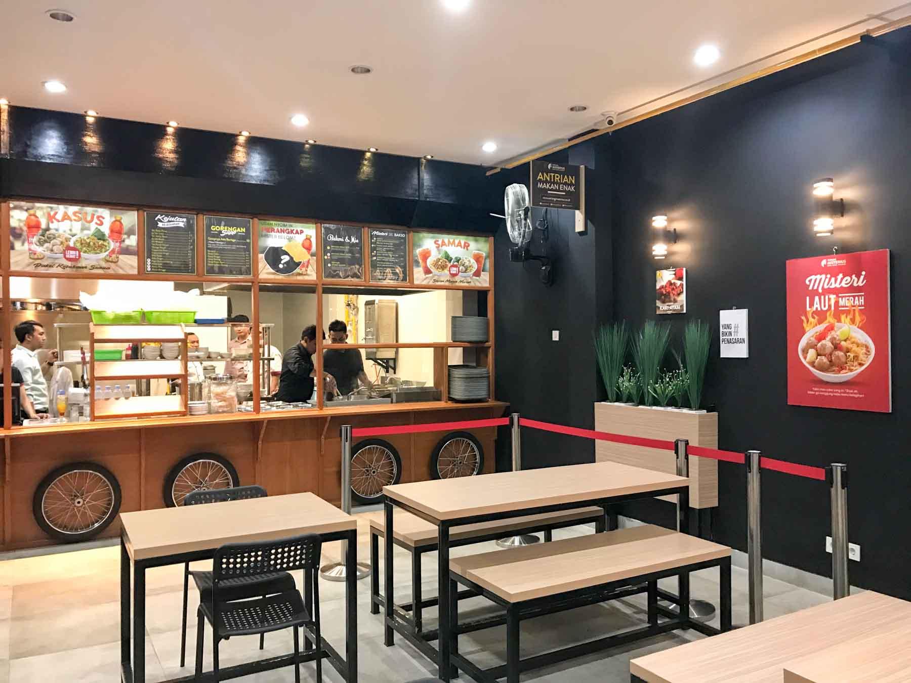 Makan Bakso dan Mie Godog di Warung Misterius Bogor