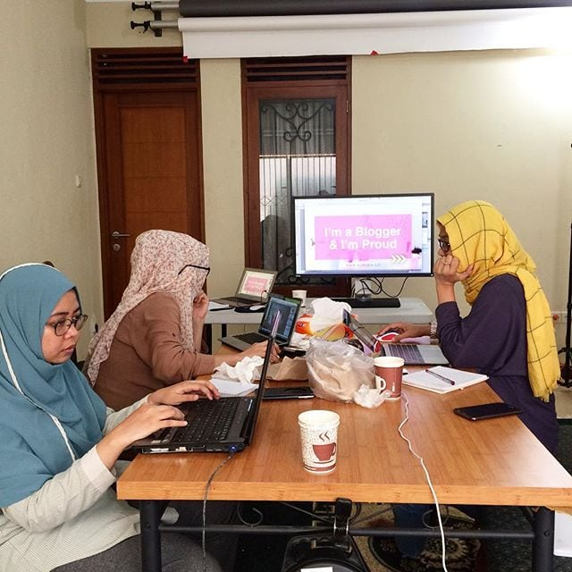 Workshop Photoshop Asinan Blogger