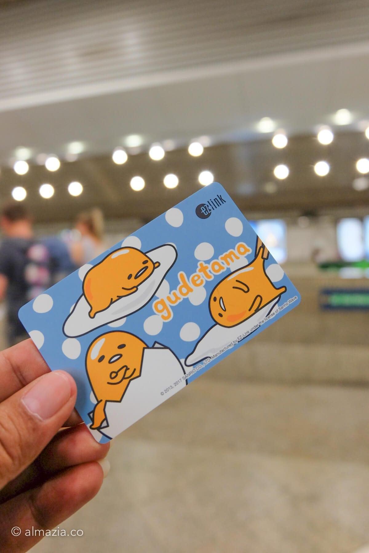 EZ-Link card Gudetama