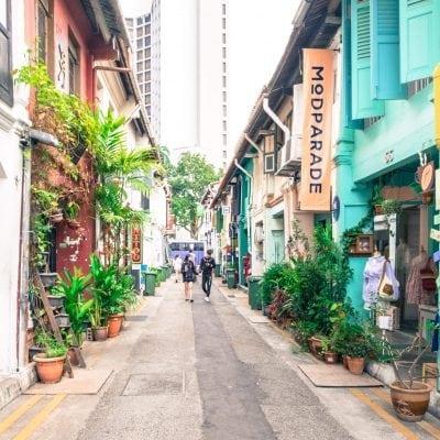 Insta-worthy Spot di Haji Lane Singapura