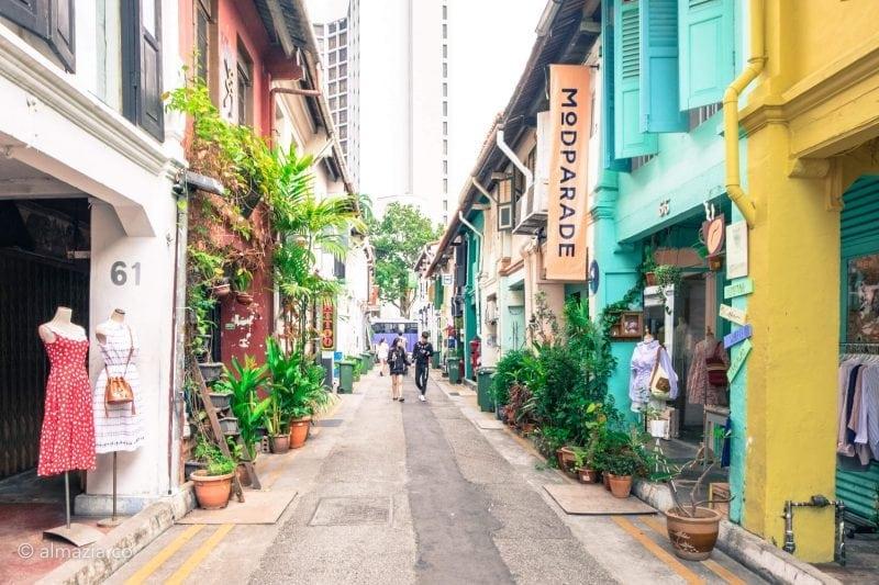 Instaworhty Instagrammable Haji Lane Kampong Glam Bugis Singapore 13