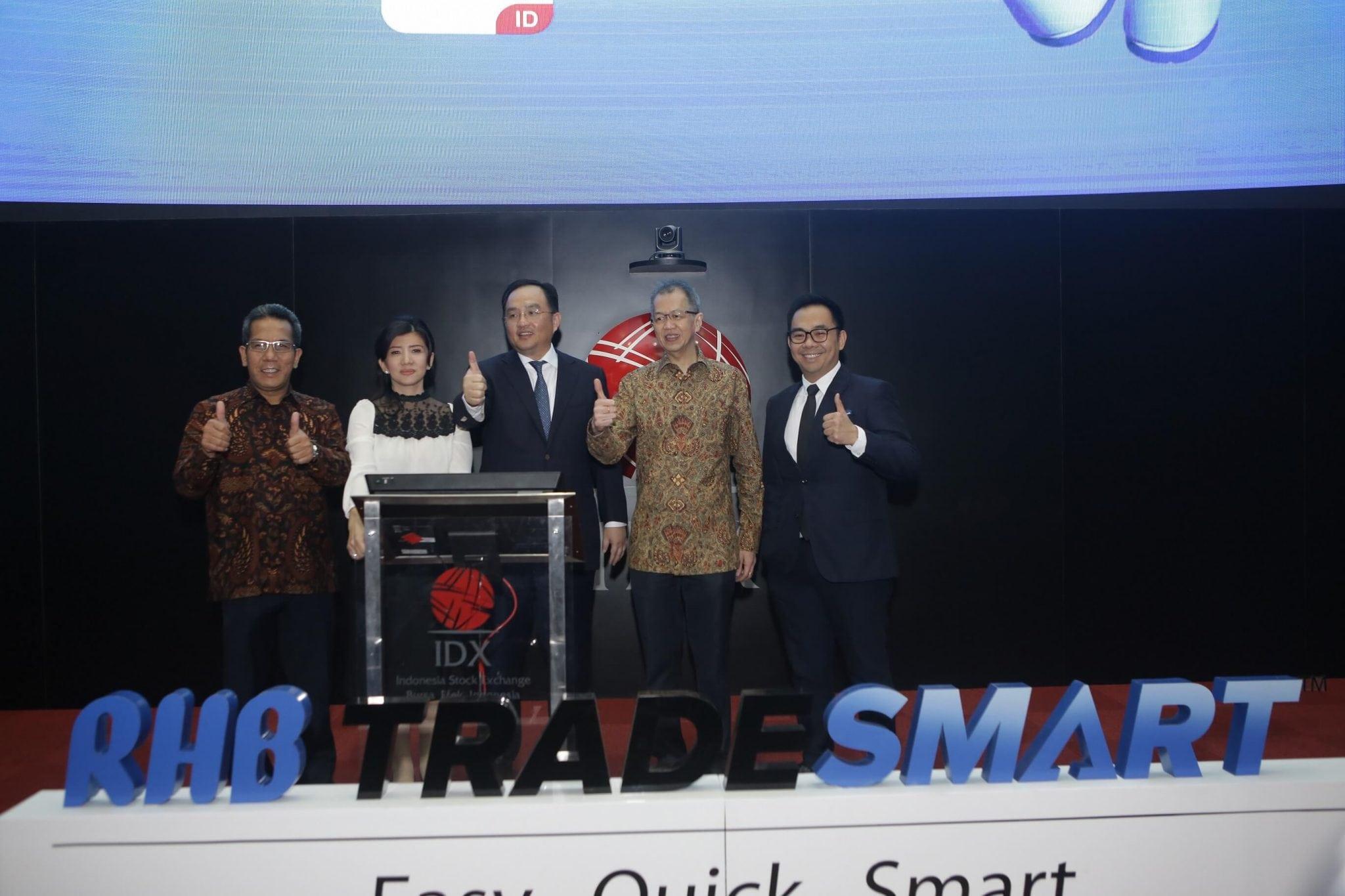 Peluncuran RHB TradeSmart with ARO