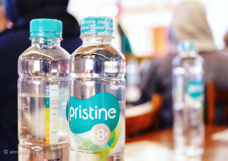 Pristine air alkali untuk detoks dan kesehatan