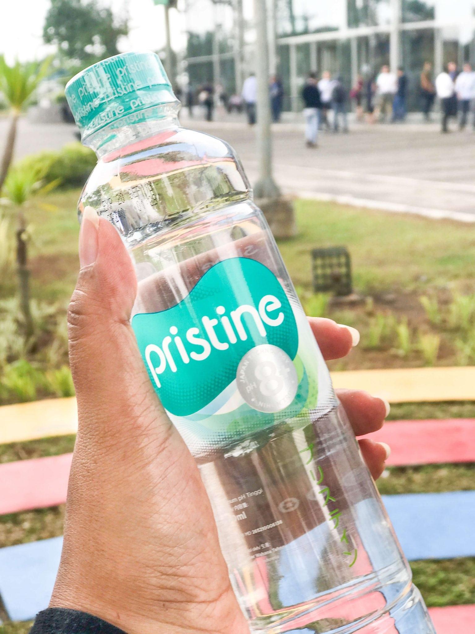 Pristine air minum alkali untuk kesehatan