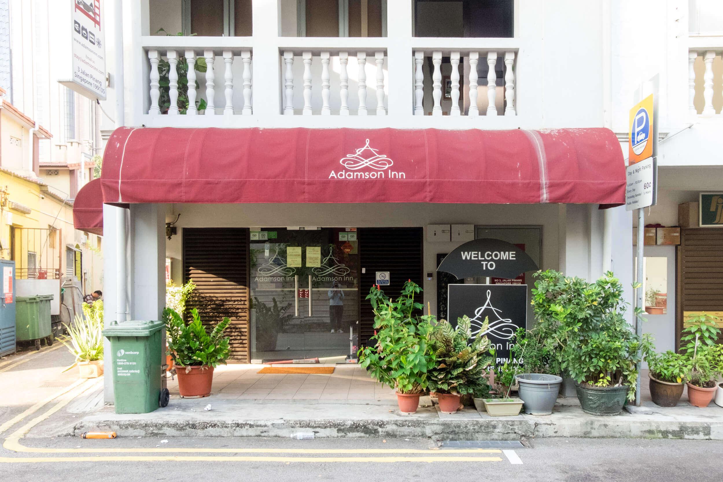Adamson Inn Bugis Kampong Glam Singapore