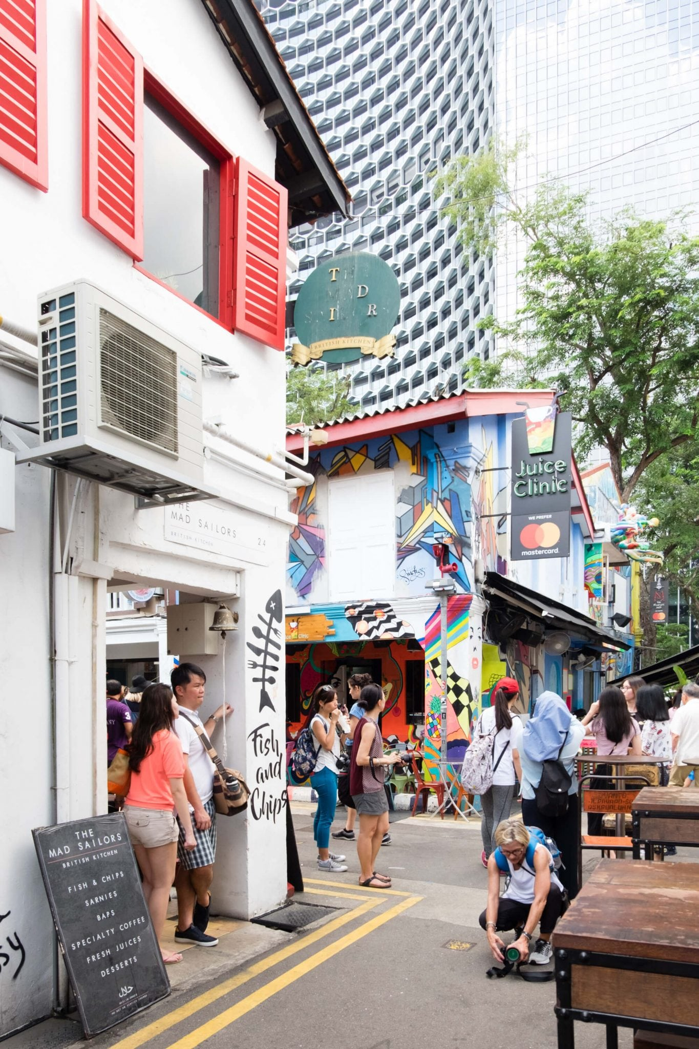 Haji Lane Kampong Glam Bugis Singapore