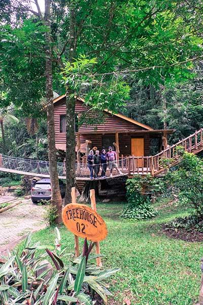 Rumah Pohon Taman Safari Cisarua Bogor