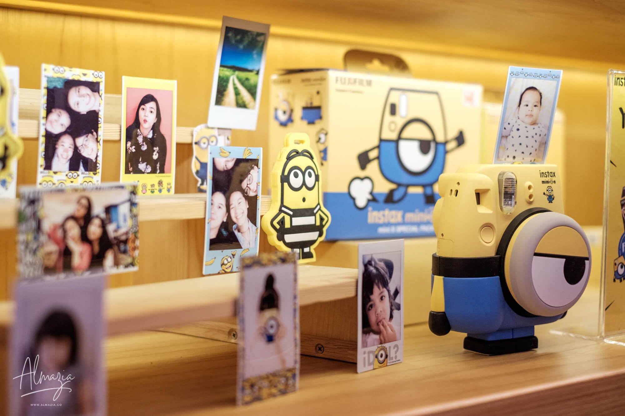 Kamera Fujifilm Instax Mini 8 Minion Special Edition