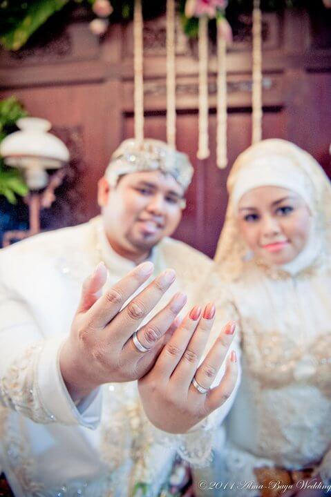 Cincin Pernikahan Kekaseh dari The Palace Jeweler