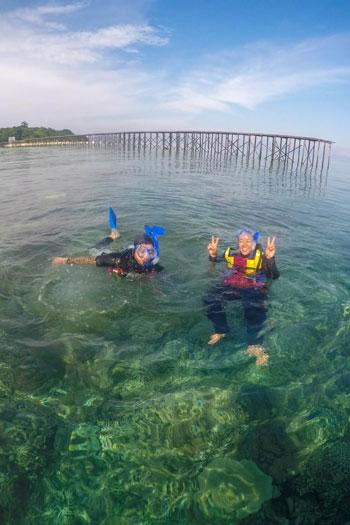 Liburan Tergosong di Kepulauan Derawan