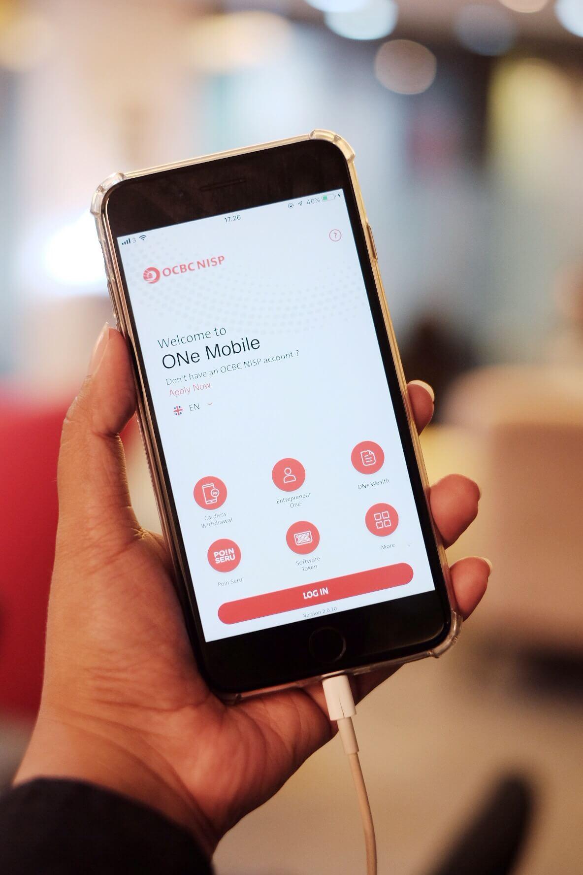 Online Banking – ONe Mobile dari OCBC NISP