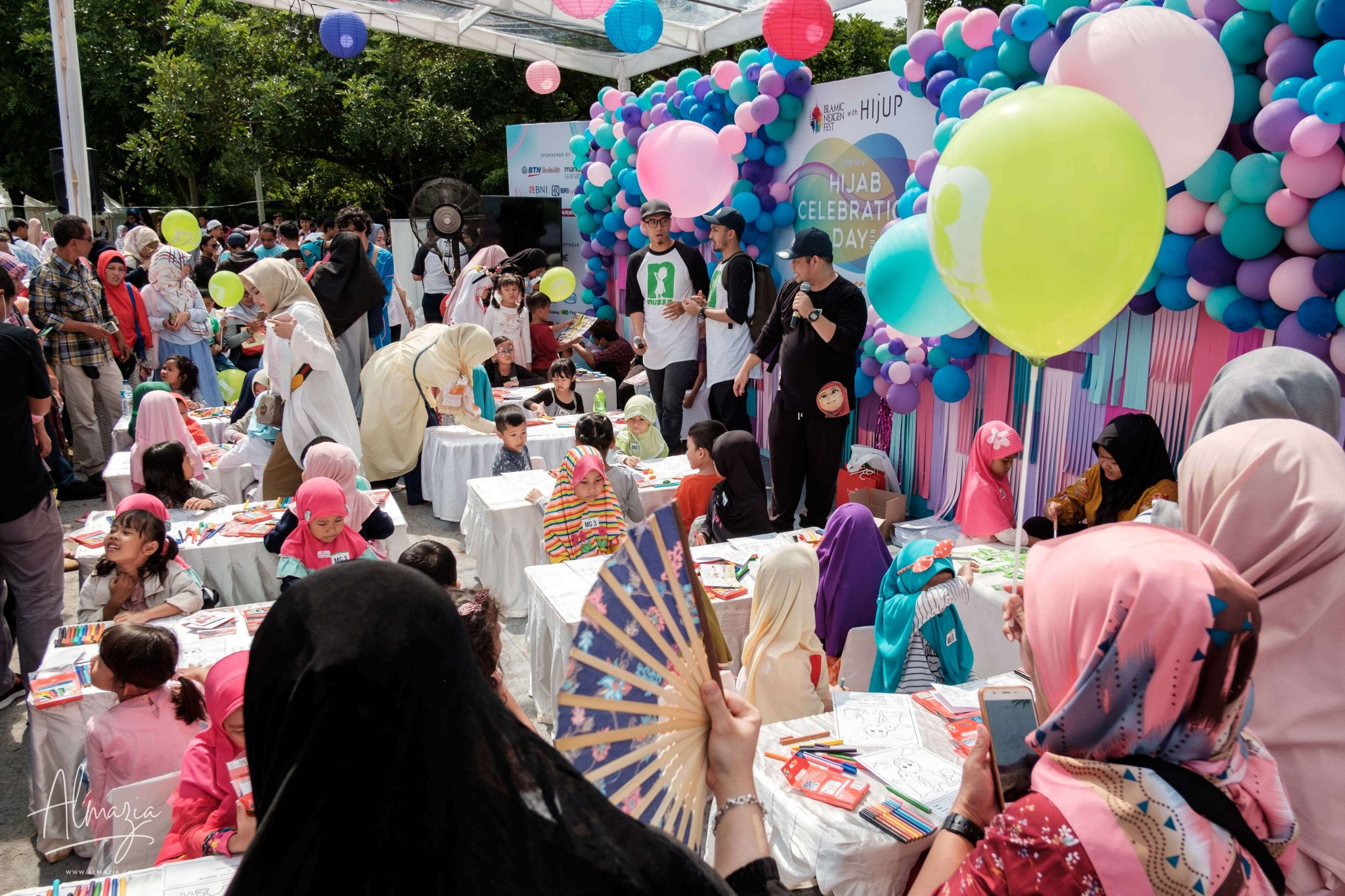Nussa Corner Hijab Celebration Day 2019 Almazia 13